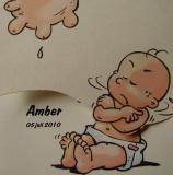 geboortekaartje amber3