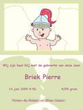 geboortekaartje briek