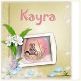 geboortekaartje kayra