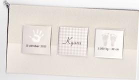 geboortekaartje kyara