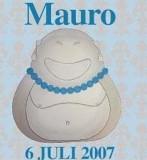 geboortekaartje mauro