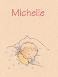geboortekaartje michelle