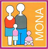 geboortekaartje mona