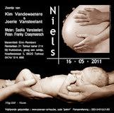 geboortekaartje niels