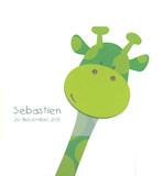 geboortekaartje sebastien